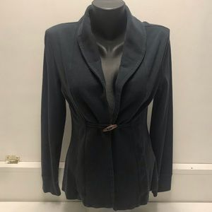 Banana Republic Navy Cardigan with Toggle Button